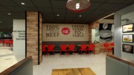 Restaurant design Joney rocket