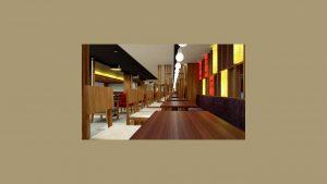 Sushi Tei seating area
